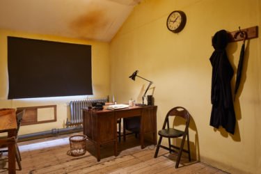 Inside Hut 3 at Bletchley Park